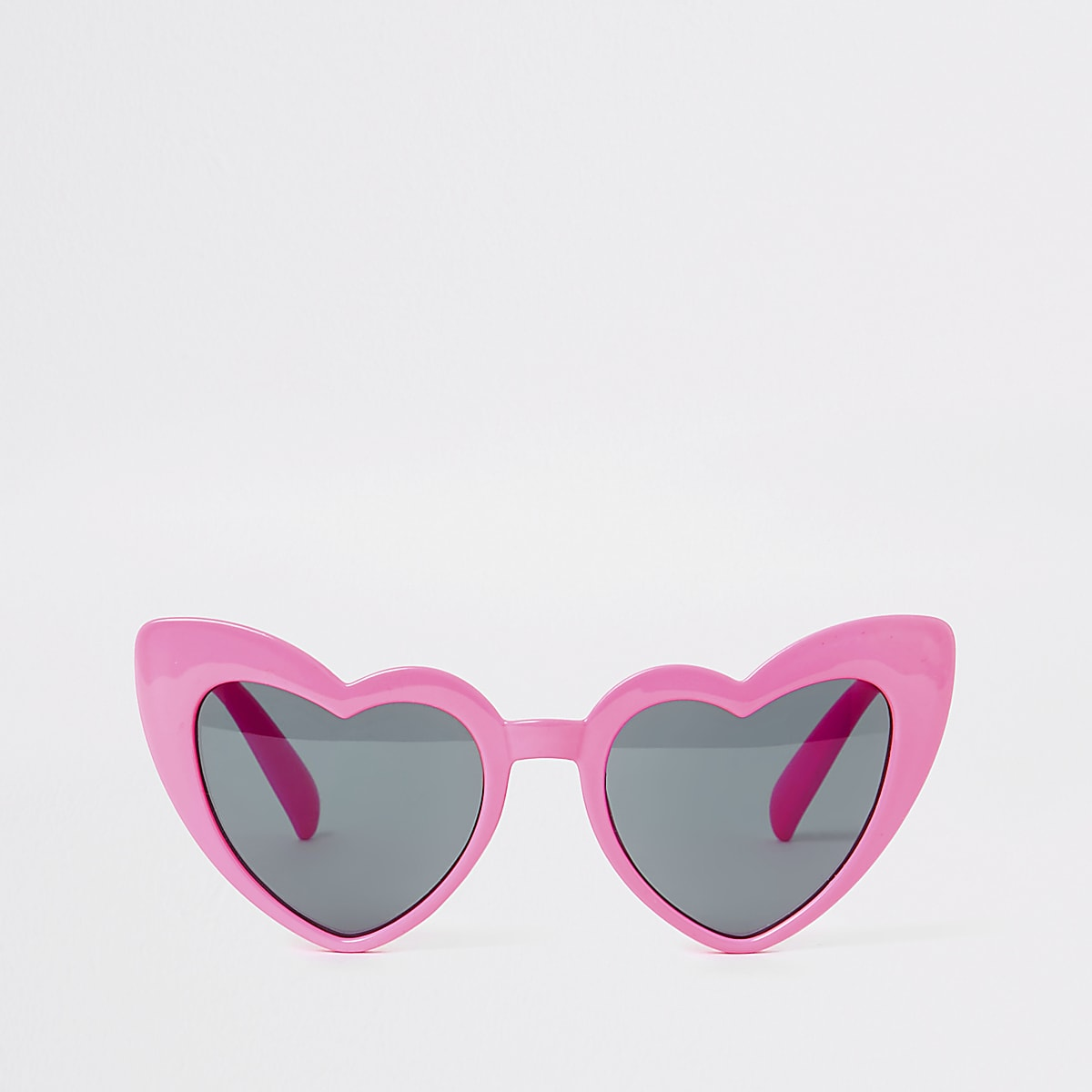 Girls pink heart cat eye sunglasses