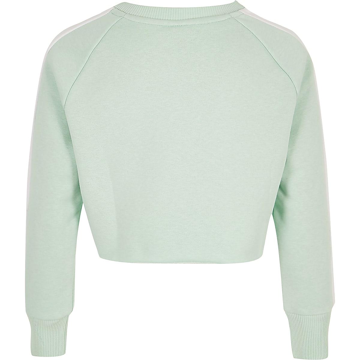 d140d476171 Girls green Hype logo crop sweatshirt - Hoodies / Sweatshirts - Tops ...