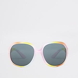 Mini - Glam zonnebril met regenboog voor meisjes