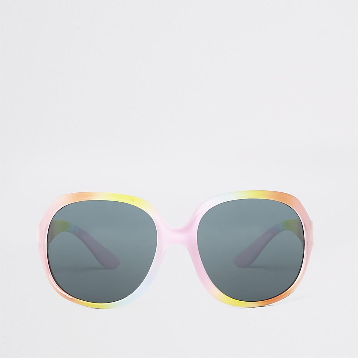 Mini girls rainbow glam sunglasses
