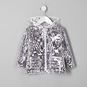 Mini - Verfraaide regenjas met pailletten en verschillende kleuren voor meisjes