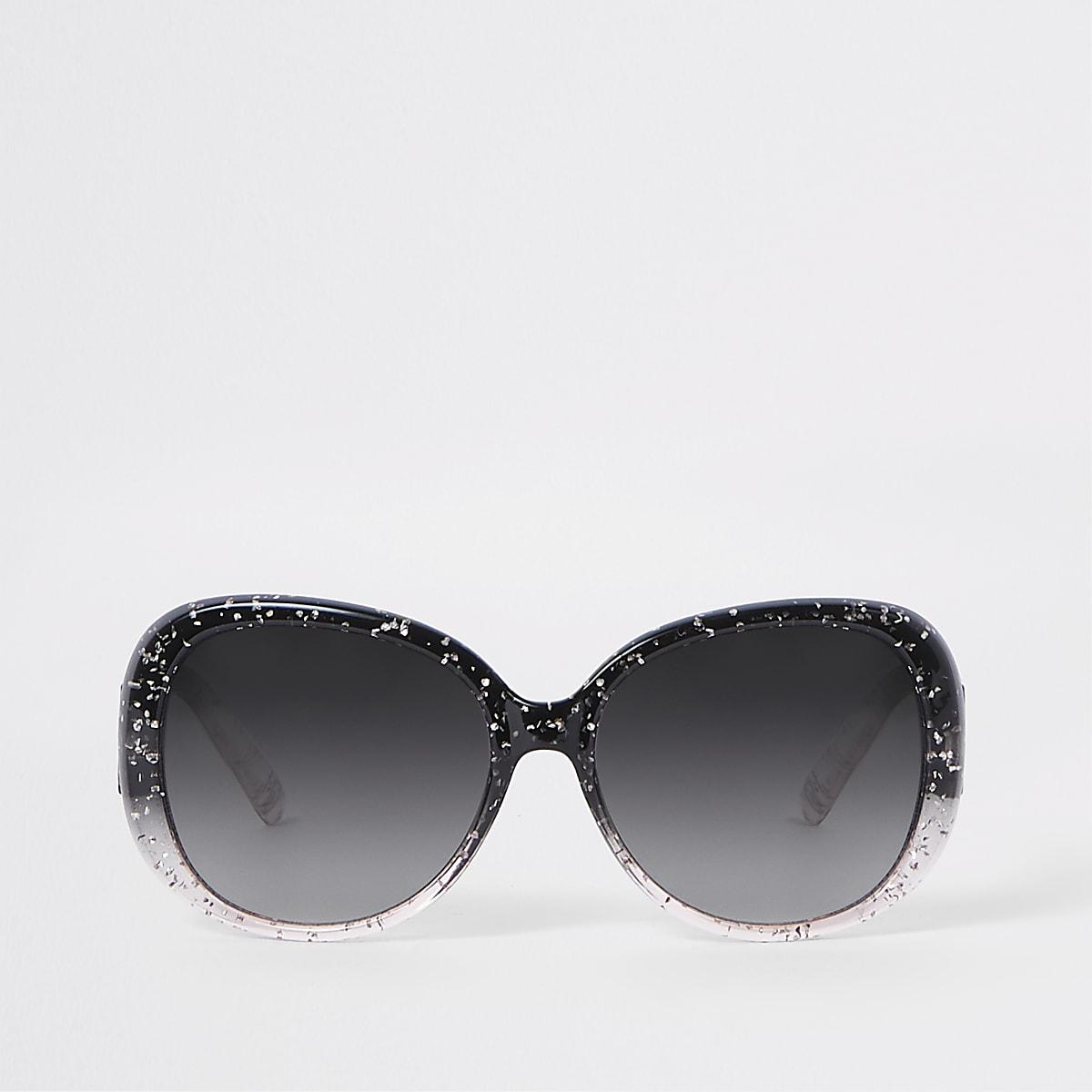 Girls pink glitter glam sunglasses