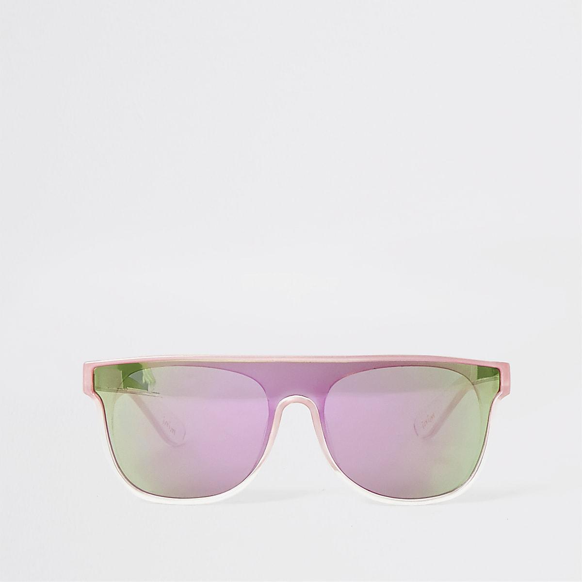 Mini - Roze visor zonnebril voor meisjes