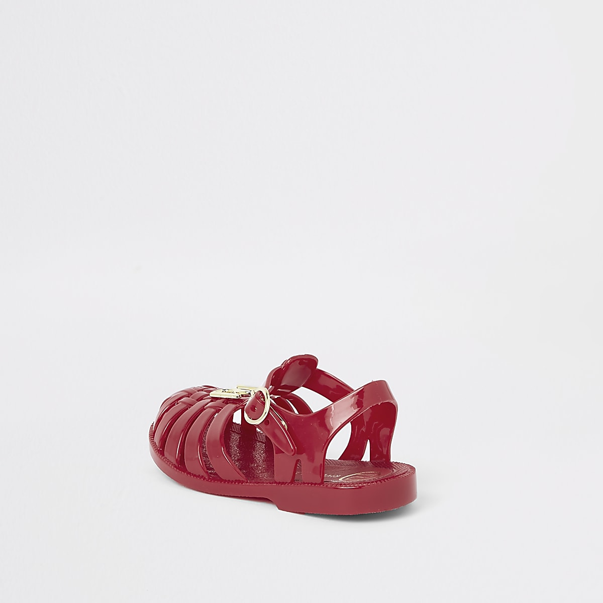 8c24eb6ee614 Mini girls red caged jelly sandals - Baby Girls Sandals - Baby Girls ...