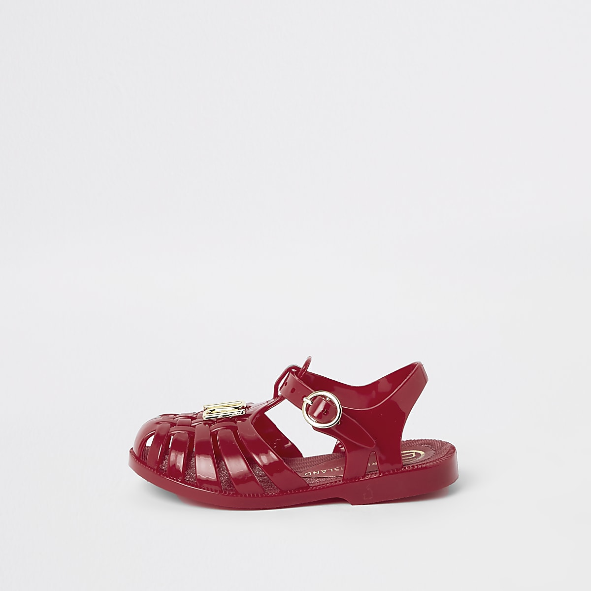 860724d08a64 Mini girls red caged jelly sandals - Baby Girls Sandals - Baby Girls Shoes    Boots - Mini Girls - girls