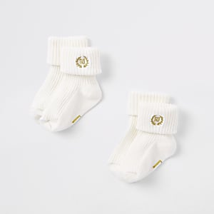 Socken in Creme, Set