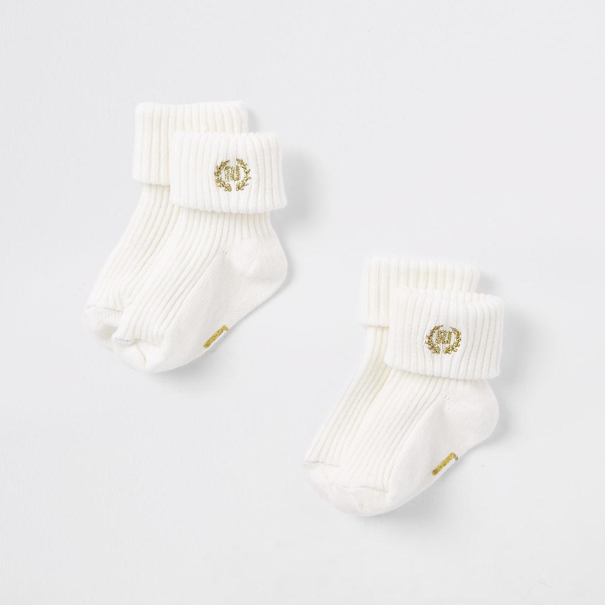 Baby cream RI socks multipack