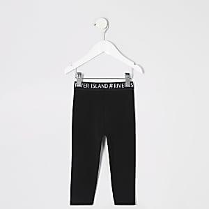 Mini - Legging met RI-logo op de tailleband voor meisjes