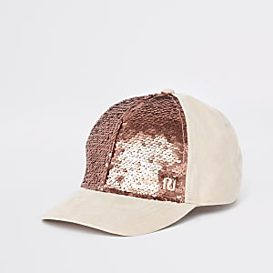 d5c385344e59e3 Girls brown leopard print baseball cap - Hats - Accessories - girls