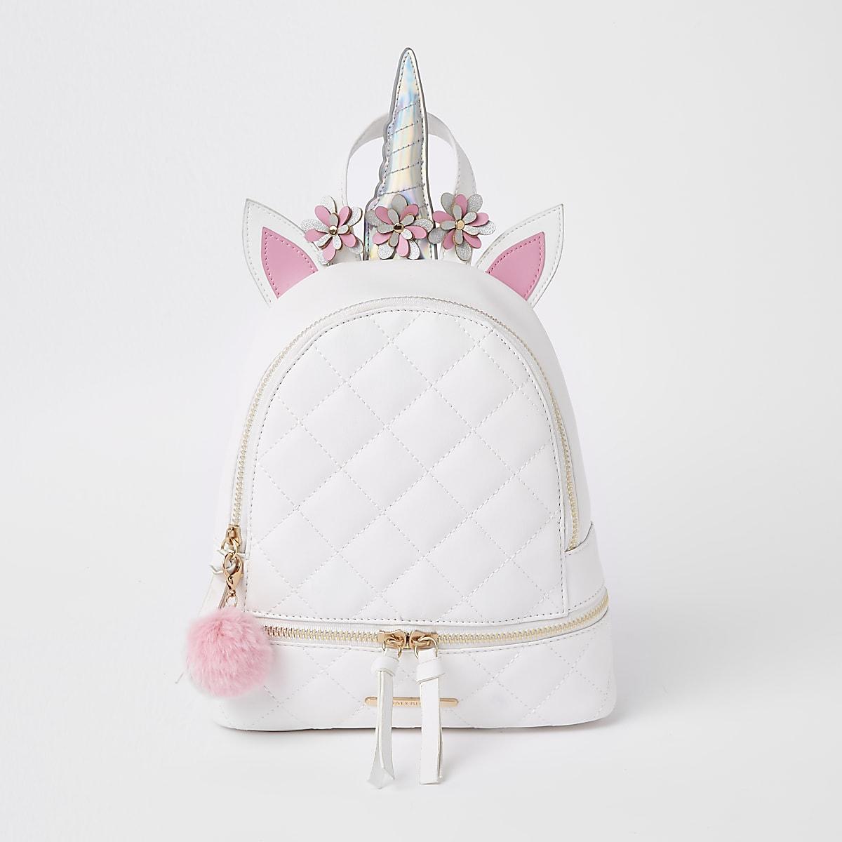 7c9aee1e42ceff Girls white unicorn backpack - Backpacks - Bags & Purses - girls