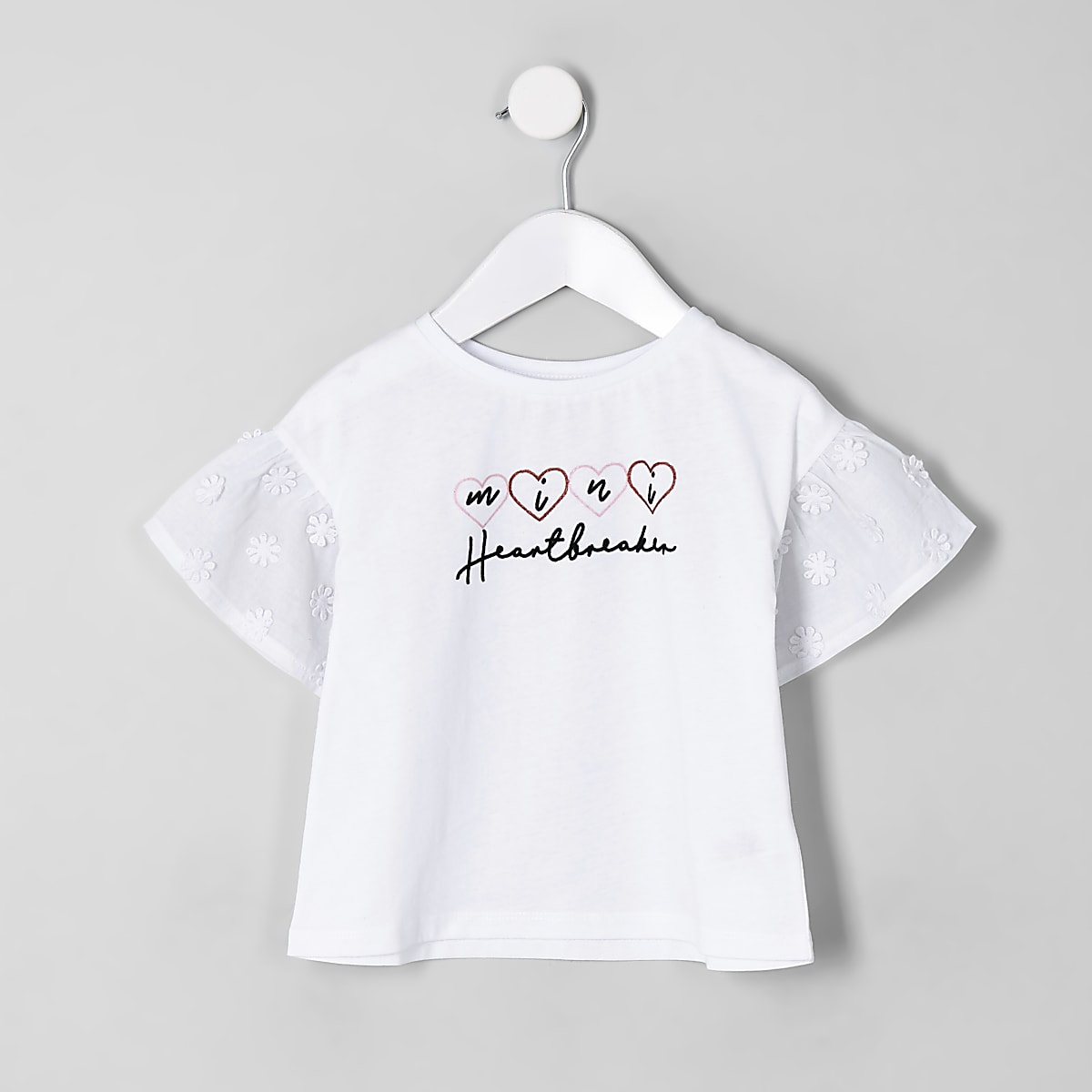 Mini girls 'heartbreaker' T-shirt