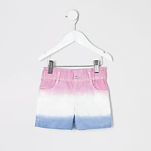 Pinke Shorts mit Farbverlauf