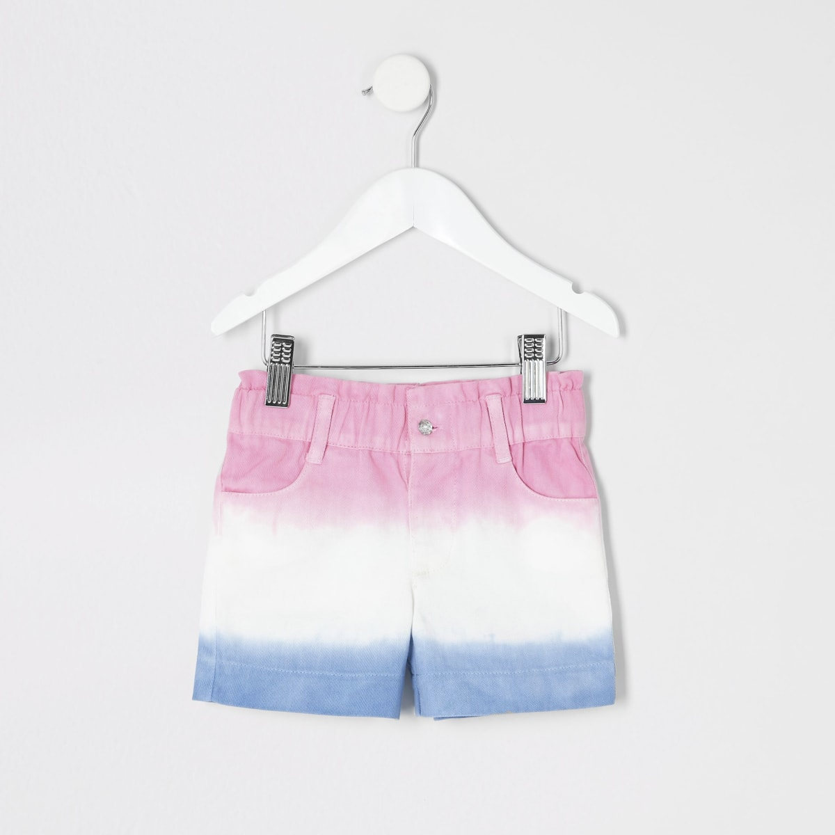 Mini - Roze ombre short voor meisjes