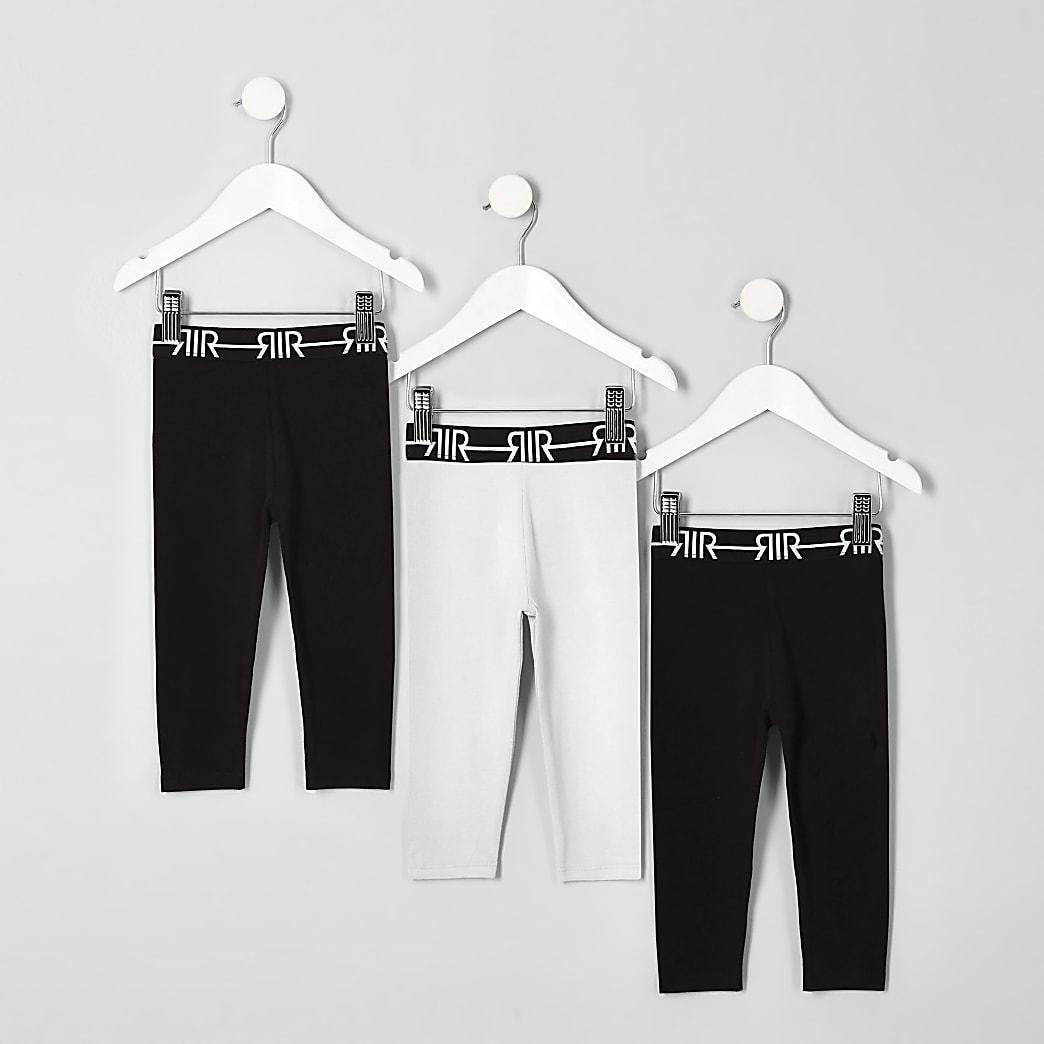 Mini girls RI waistband legging multipack