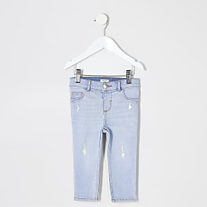 Molly – Jegging bleu mini fille