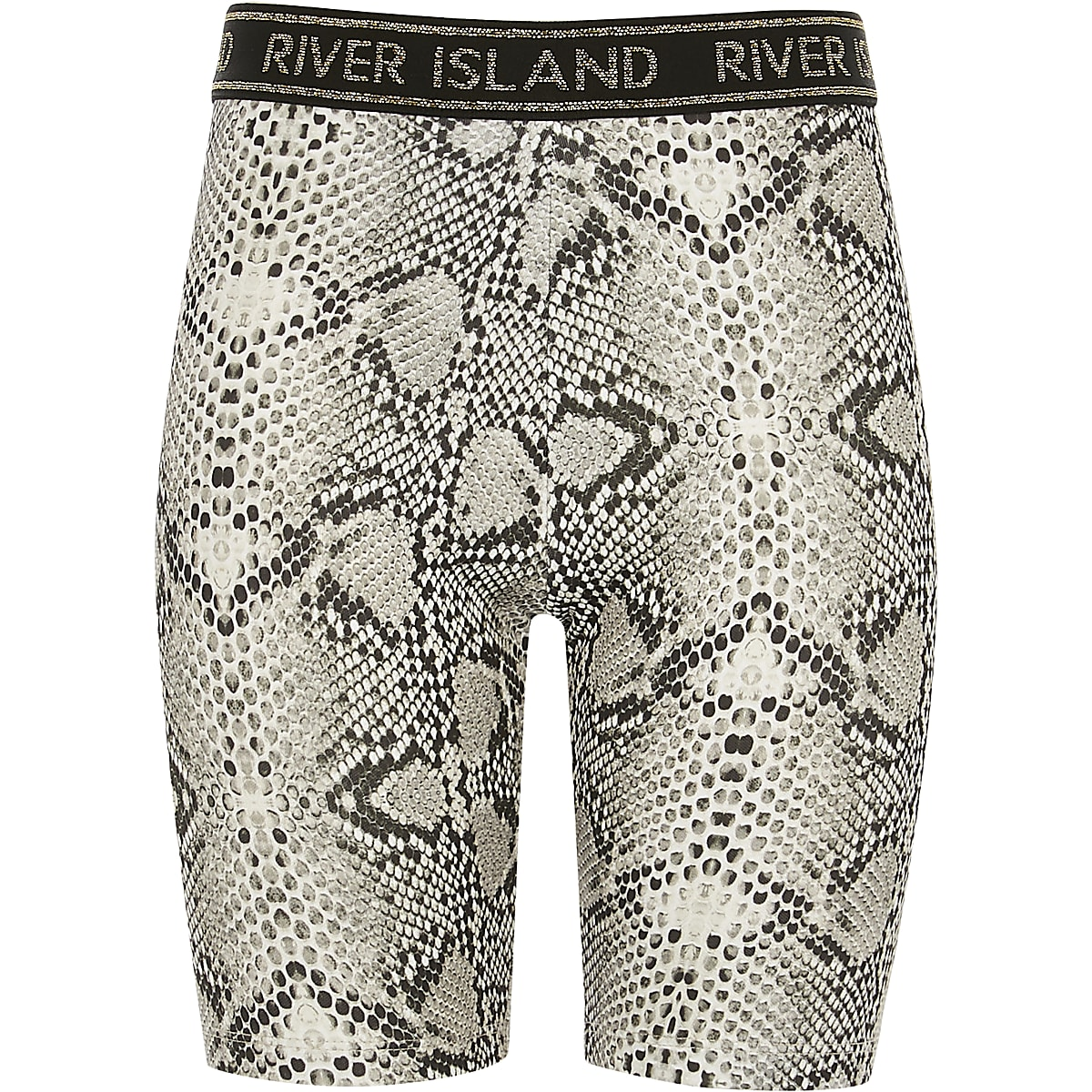 Girls snake print RI cycling shorts