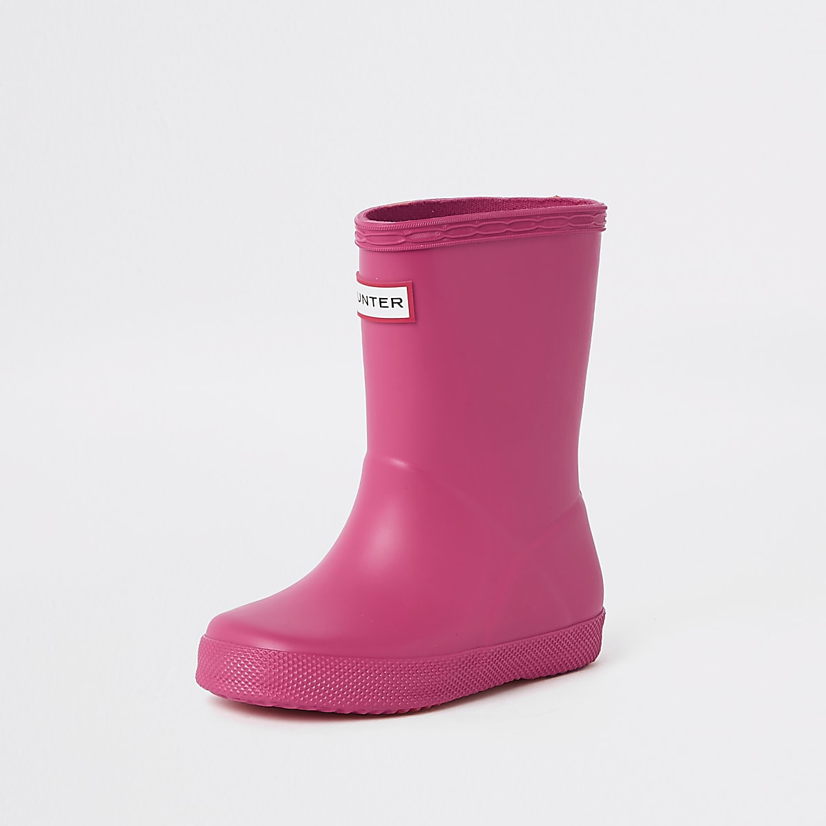 2119ff9d678 Mini kids Hunter Original First pink wellies