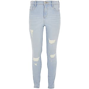 Amelie – Hellblaue Jeans