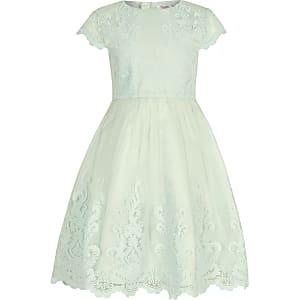 Chi Chi London – Viviana – Grünes Kleid