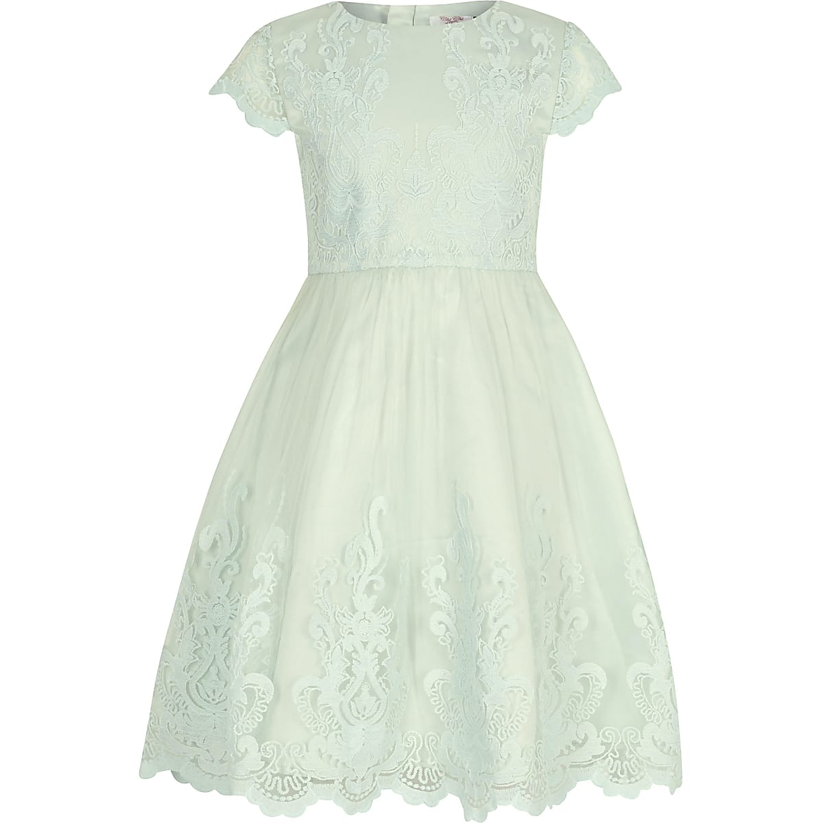 Chi Chi London - Viviana - Groene jurk voor meisjes