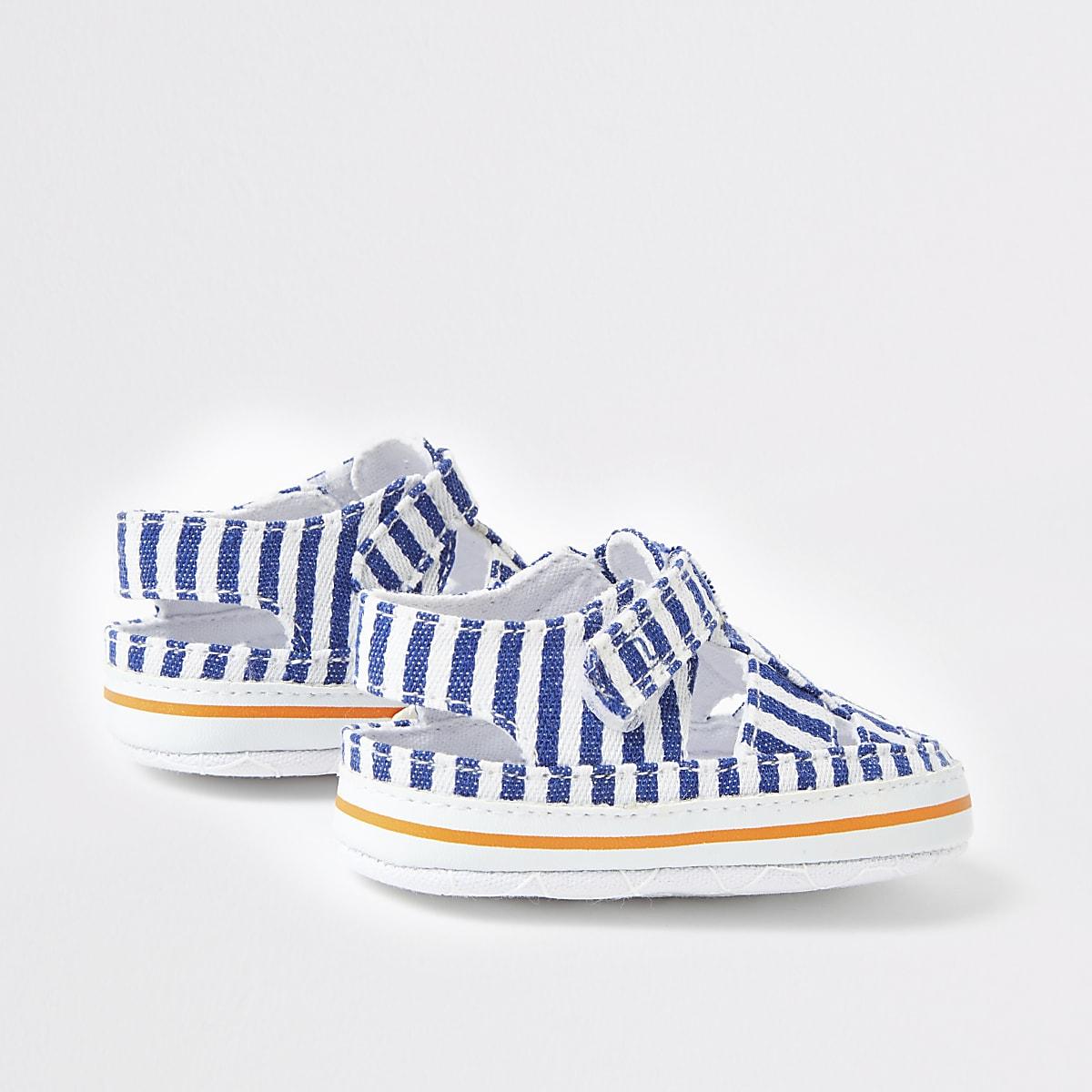 Baby's Sandalen Voor Blauwe Babymeisjes Gesptreepte hrtCsQd