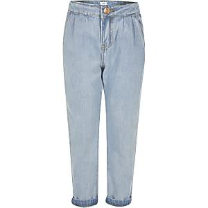 Blauwe Mom jeans voor meisjes