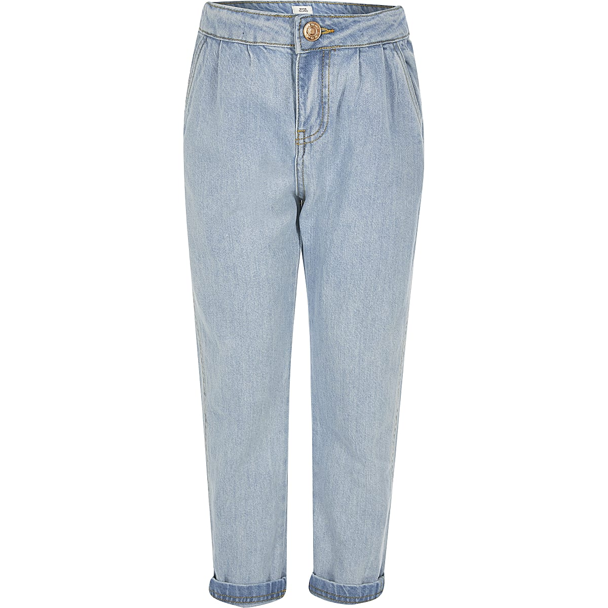 Girls blue mom jeans
