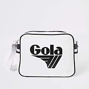 Girls metallic purple Gola backpack