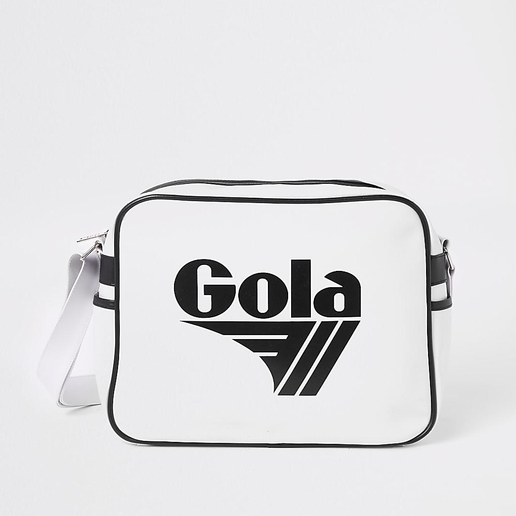 Kids white Gola mini cross body bag