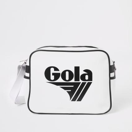 Kids white Gola mini cross body bag