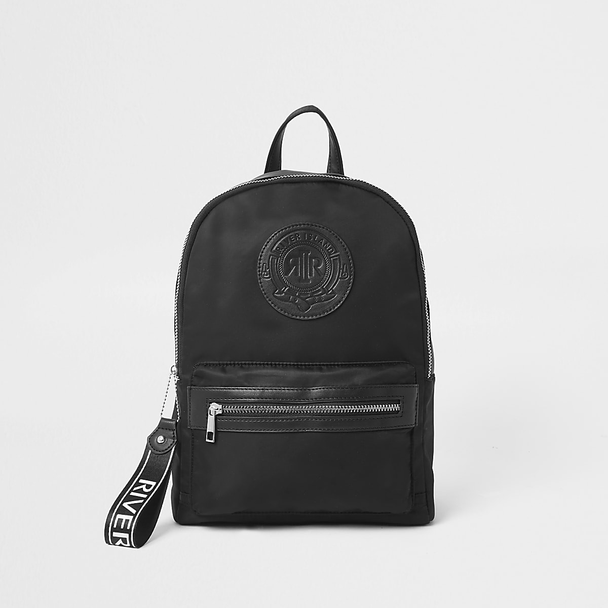 Girls black RI backpack