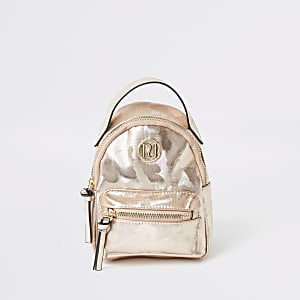 Sac à dos camouflage rose pour fille