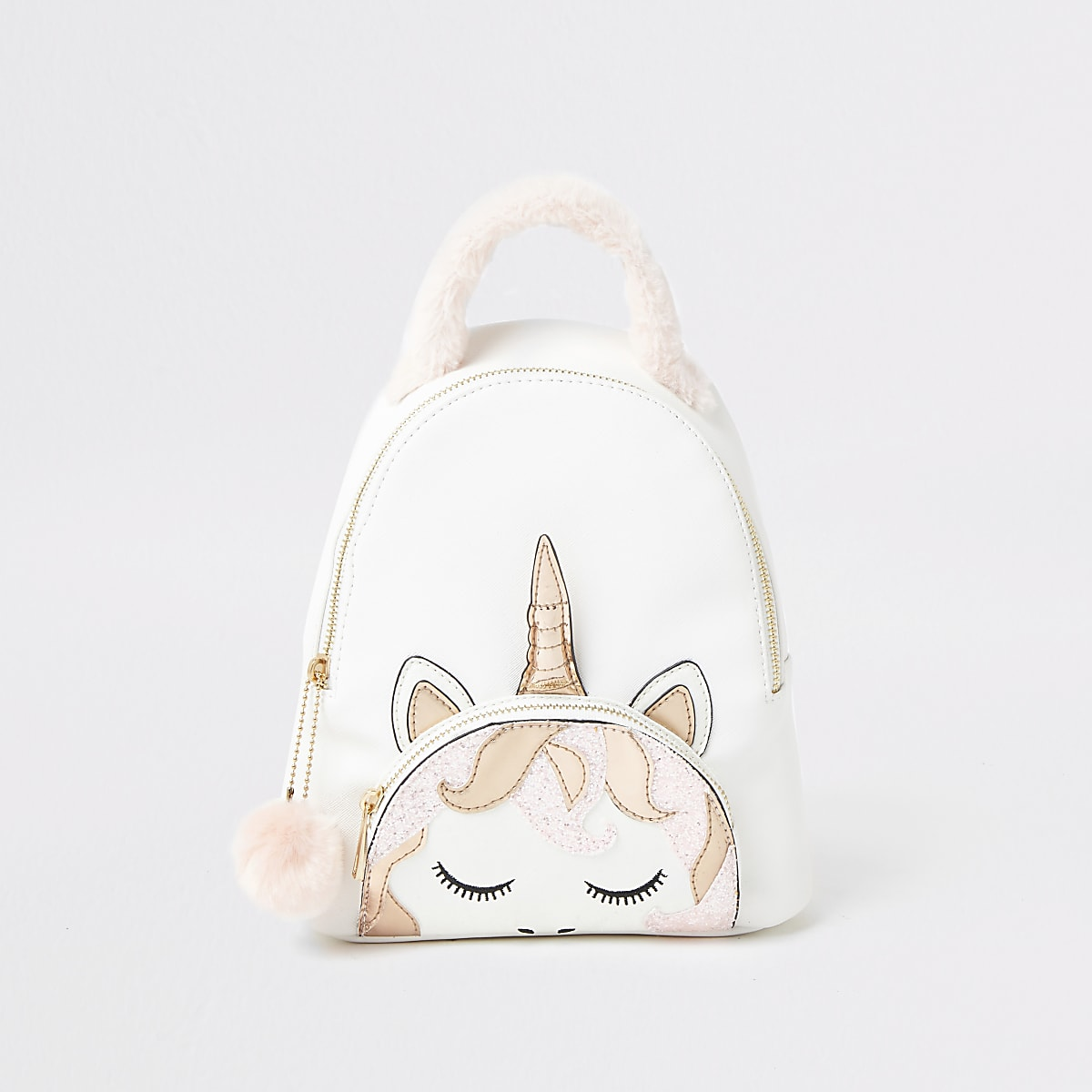 meilleures baskets 1d683 98632 Girls white unicorn backpack