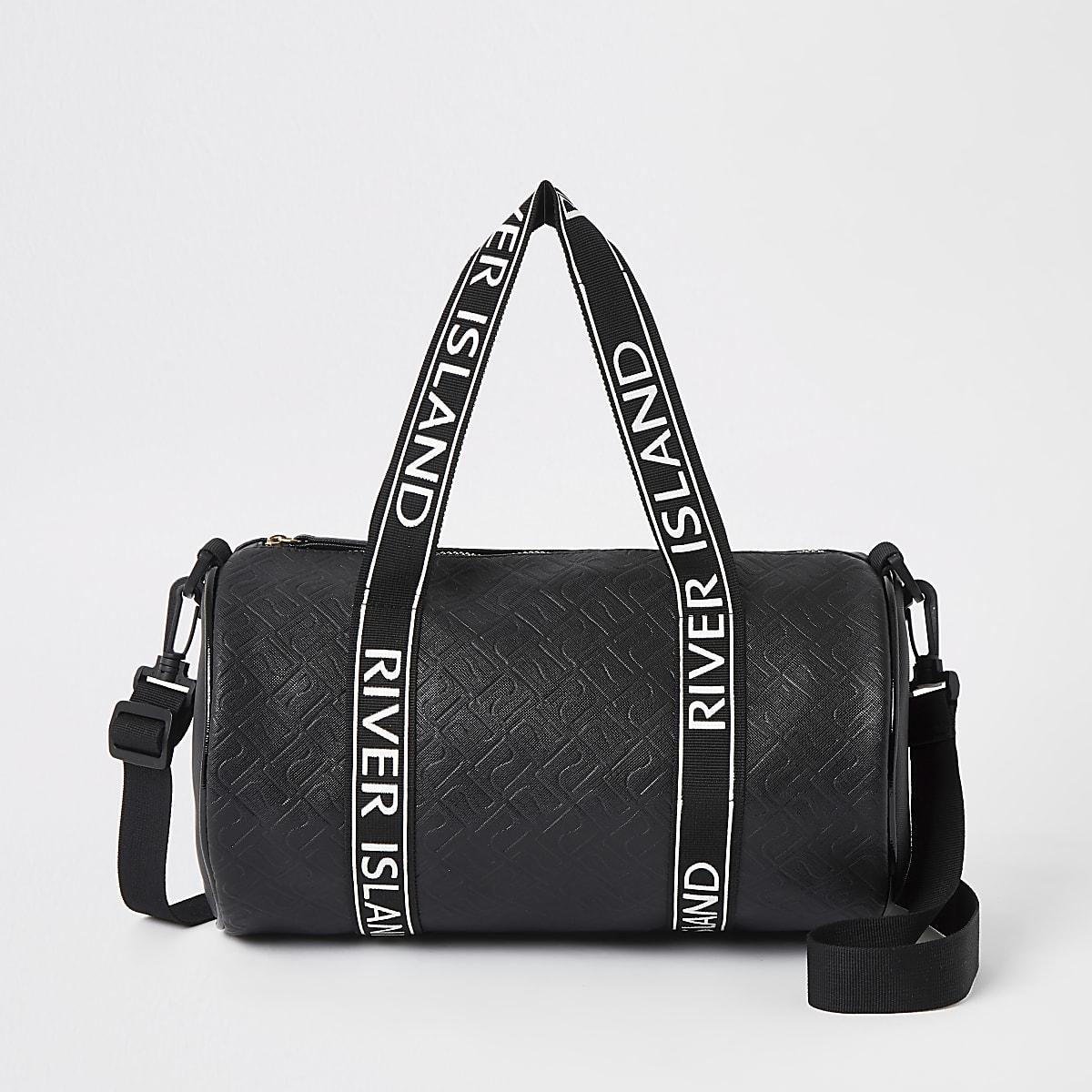 Gilrs black Ri mono holdall bag