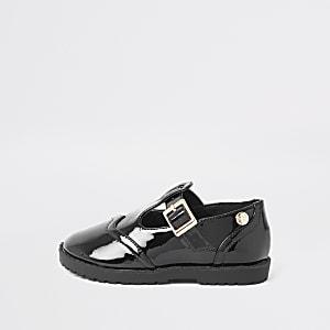 Chaussures noires vernies mini fille