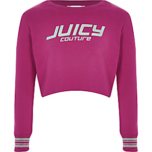 Juicy Couture - Sweat court rose pour fille