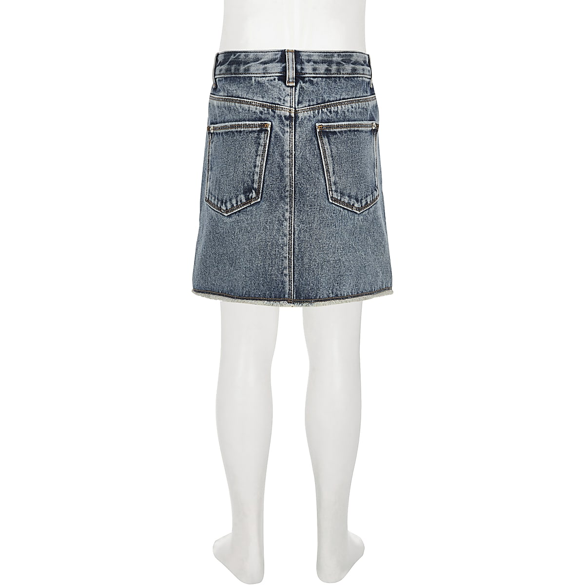 db94ed607333b2 Girls blue ripped denim skirt - Casual Skirts - Skirts - girls