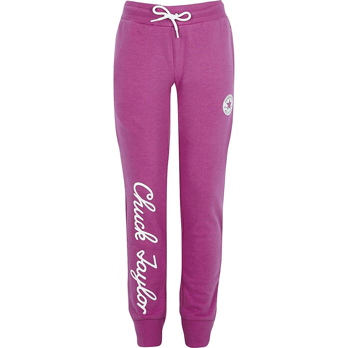 Converse - Roze Chuck Taylor joggingbroek voor meisjes