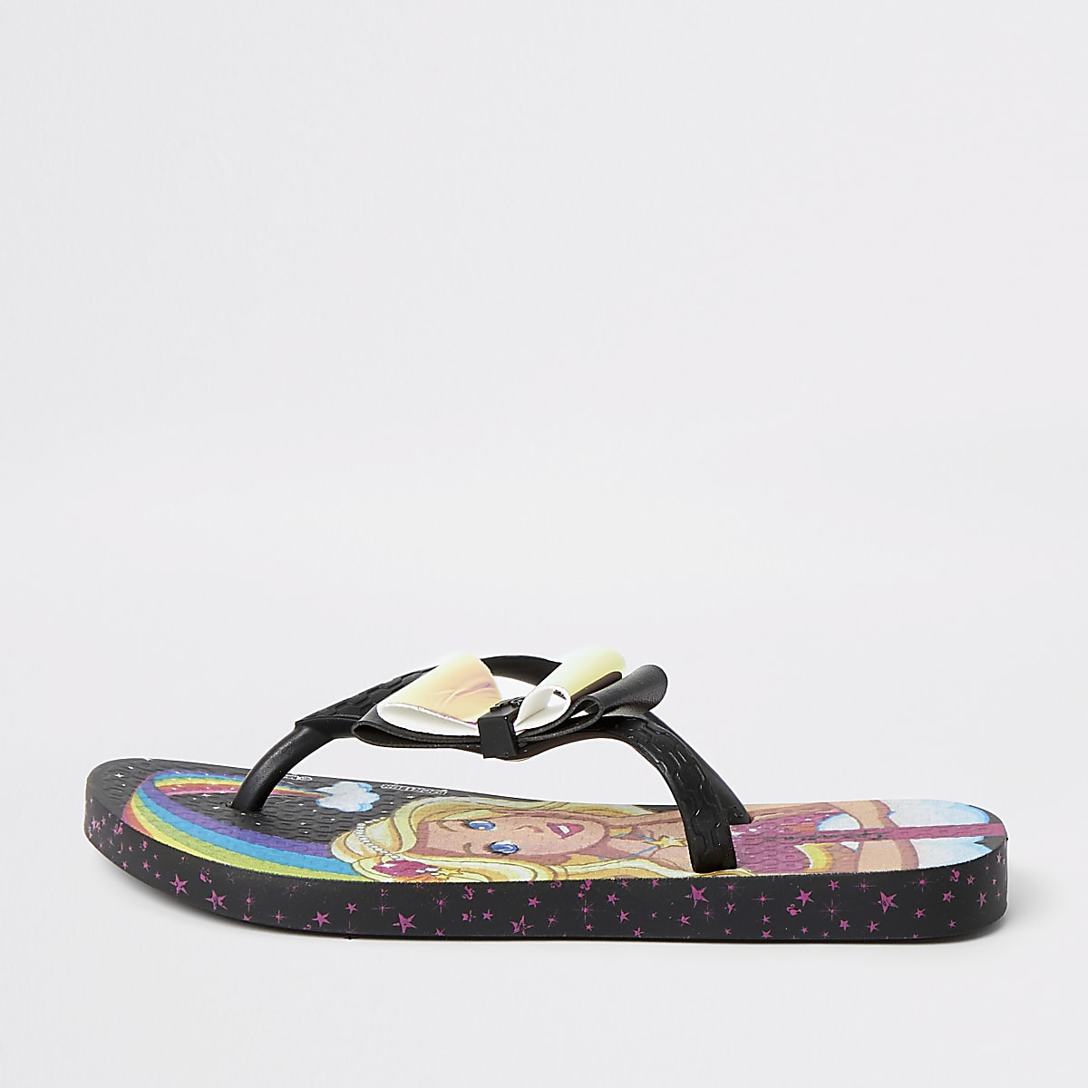 Girls Ipanema Barbie Fantasia flip flops