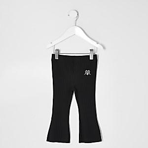 Mini – Schwarze Schlaghose für Mädchen