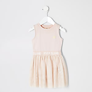 Robe rose style tutu pour fille