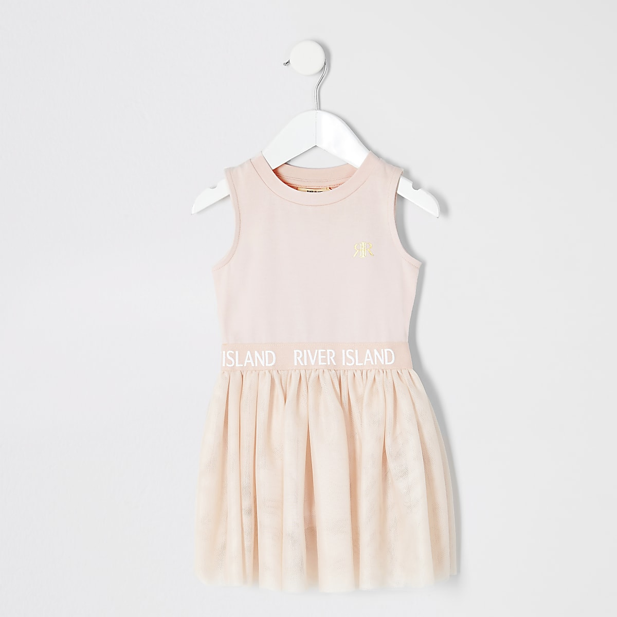 Girls pink tutu dress