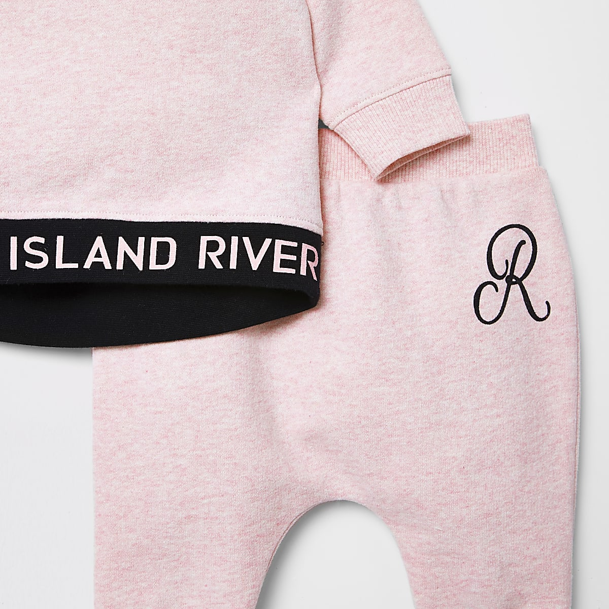 87383d5ee90 ... Mini girls · Baby girls outfits  Baby pink RI sweater outfit. Baby pink  RI sweater outfit ...