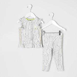 RI Active – Outfit mit Oberteil in Beige