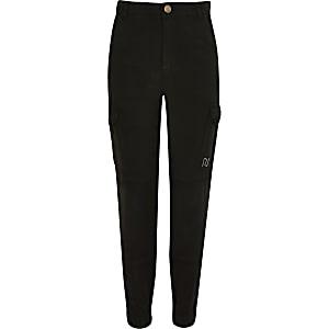 Pantalon utilitaire noir pour fille