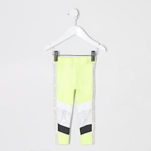 RI Active – Legging vert fluo mini fille