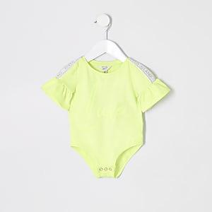 RI Active – Body vert fluo mini fille