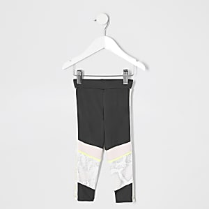 Mini girls RI Active grey leggings