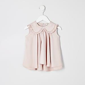 Mini - Roze A-lijntop voor meisjes