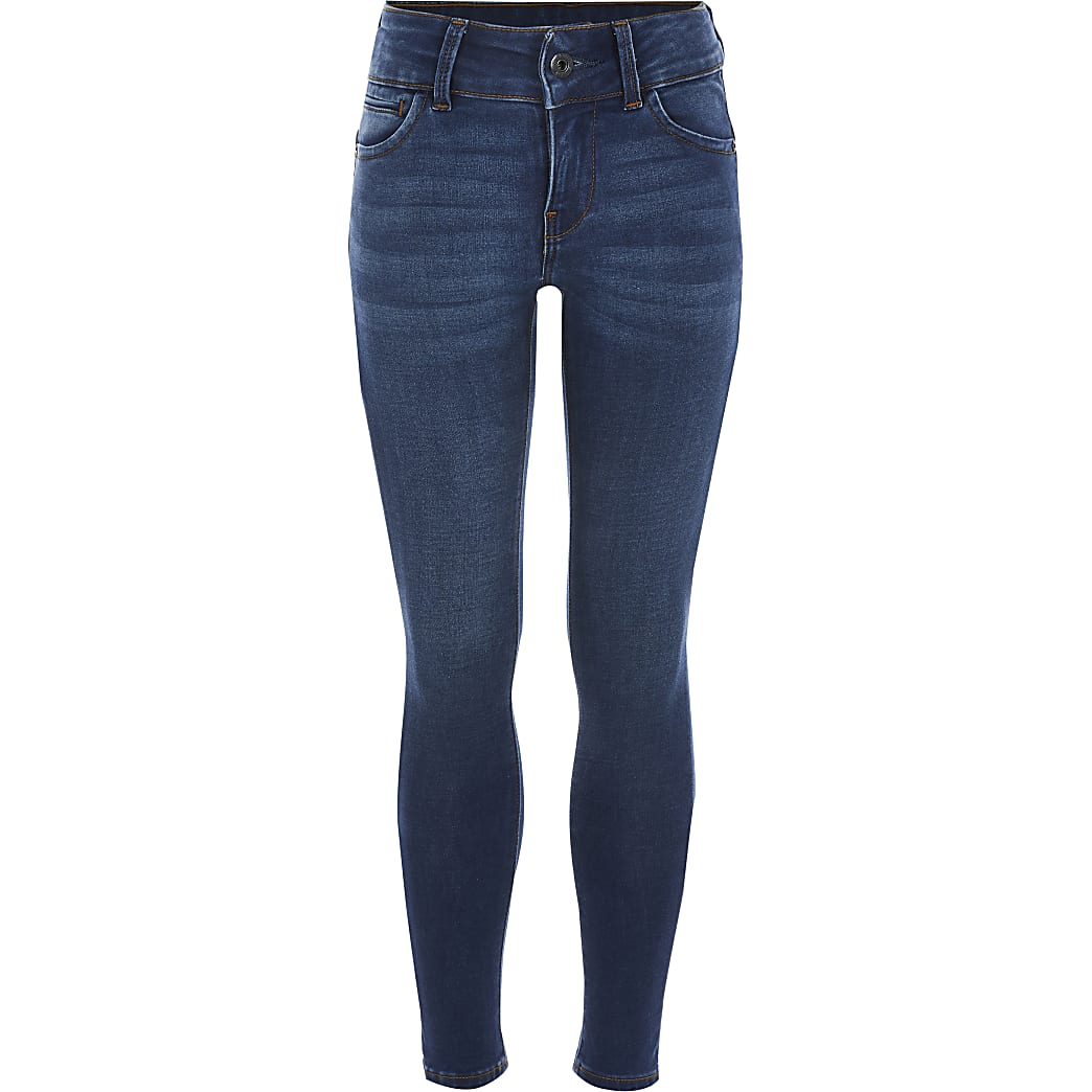 G-Star Raw - Blauwe Midge Cody jeans voor meisjes